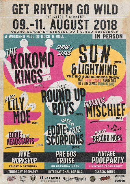 get rhythm august rockabilly