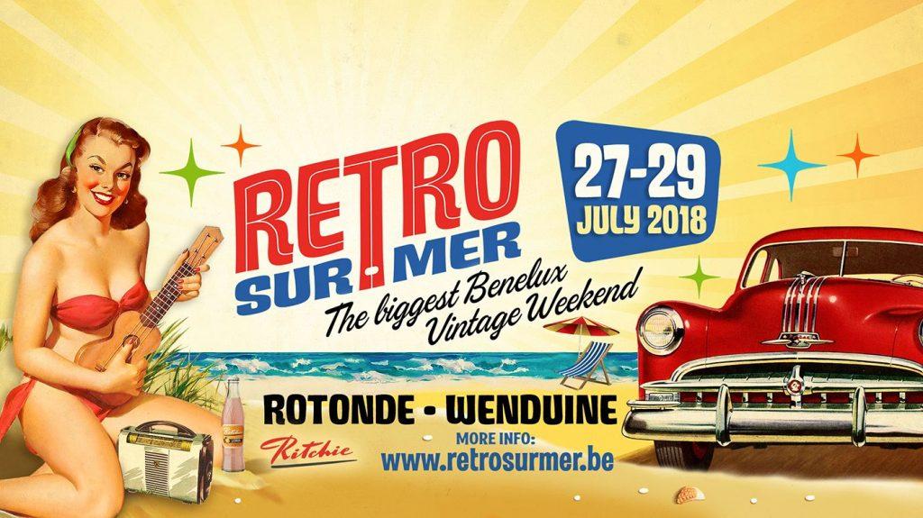 retro weekender Belgium