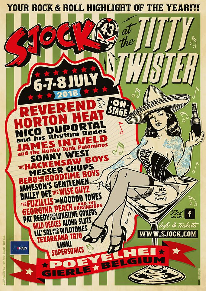 sjock rockabilly festival Belgium