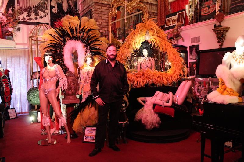 Grant Philipo S Las Vegas Showgirl Museum Burlesque Baby