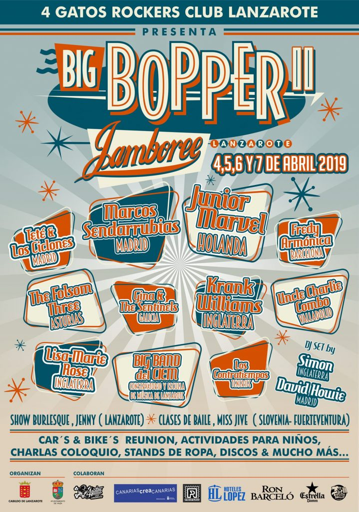 Big bopper jamboree Spain