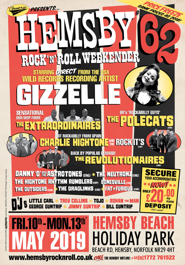Hemsby rock n roll weekend