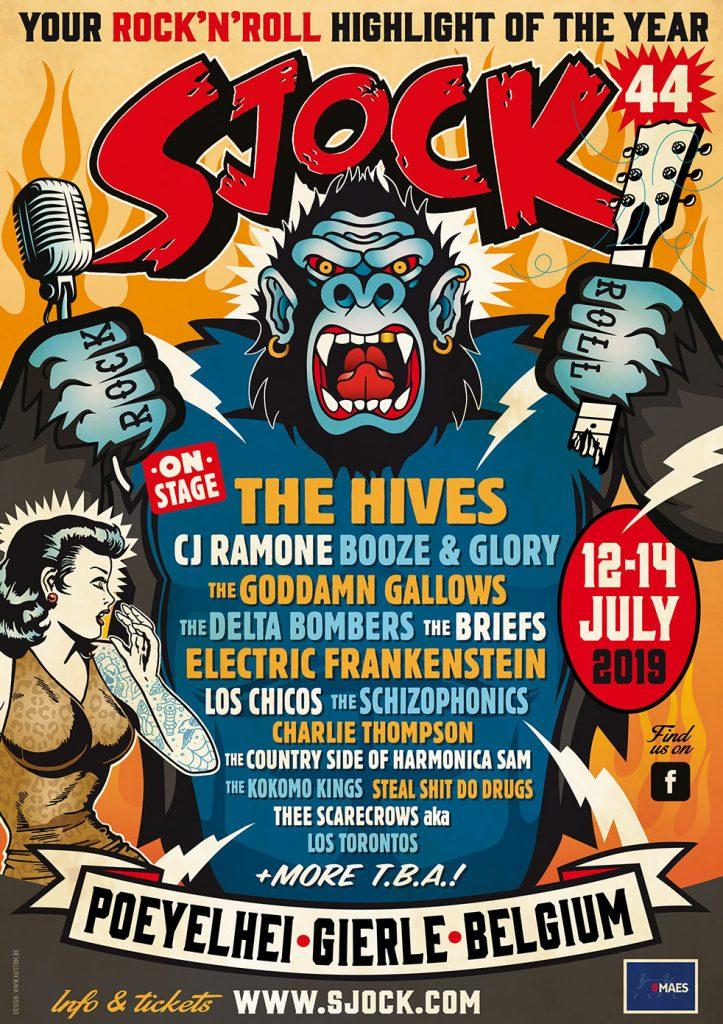 Sjock rockabilly festival