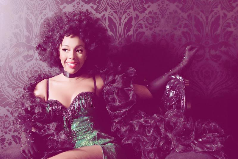 pinup of the month Burlesque Baby