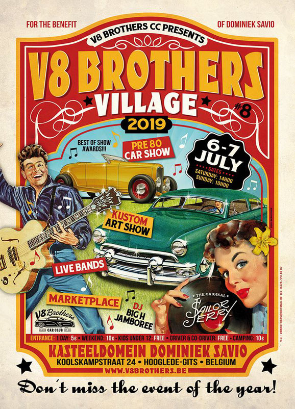 v8 brother festival weekender