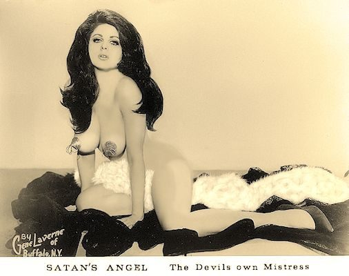 Miss Satans Angel Burlesque