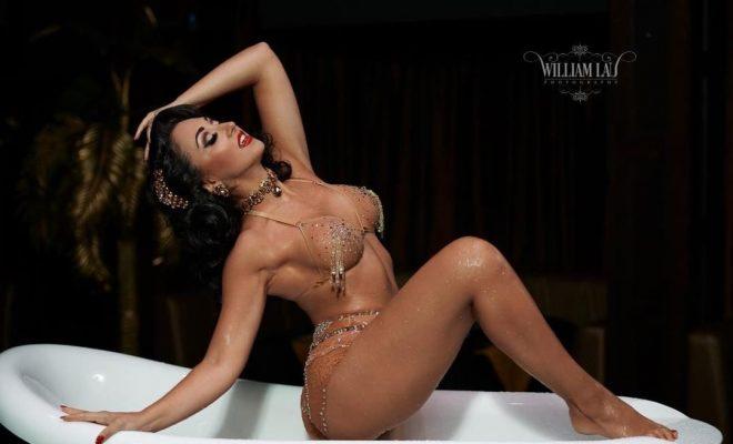 Jolie papillon burlesque