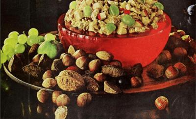 Midcentury Vintage Christmas food recipes