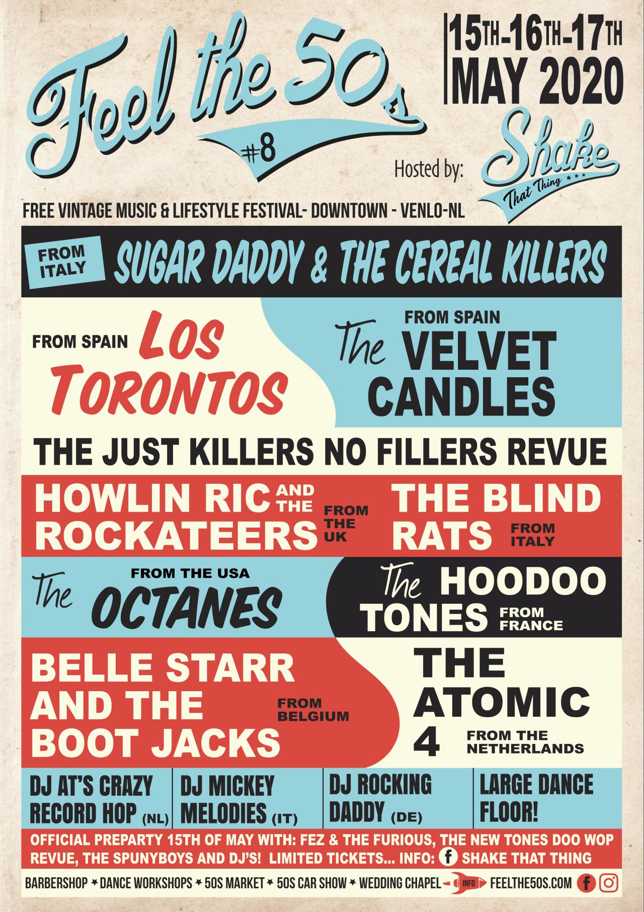 Feel the 50s rockabilly festival 2020