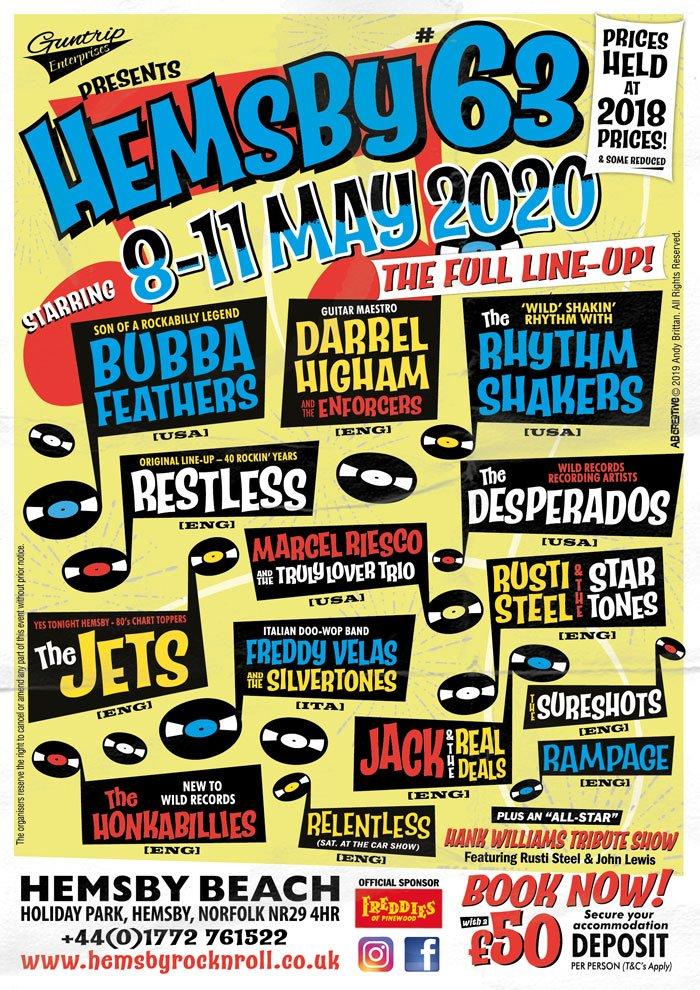 hemsby rockabilly weekend 2020