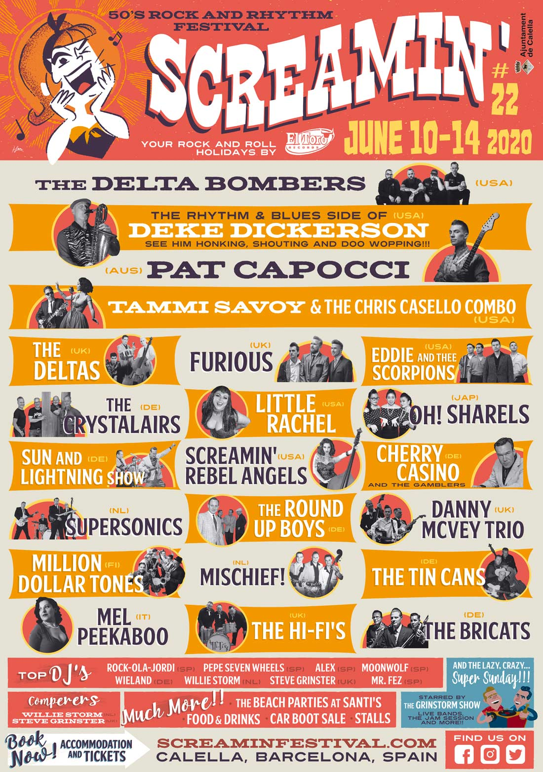 screamin rockabilly festival 2020
