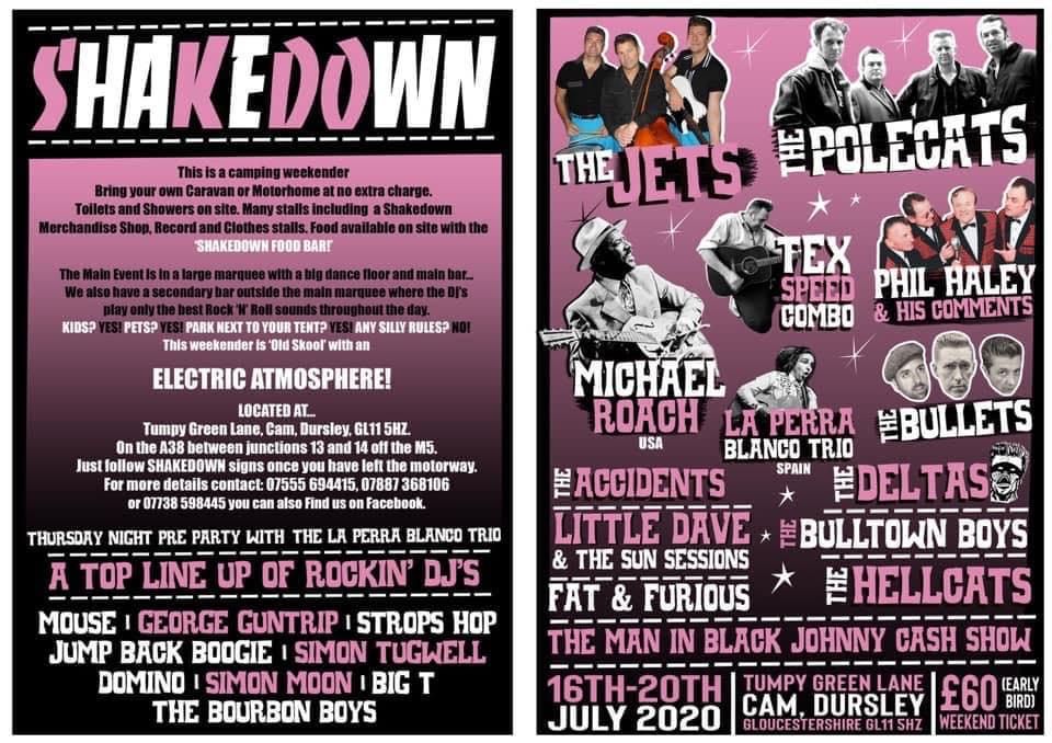 shakedown rockabilly festival