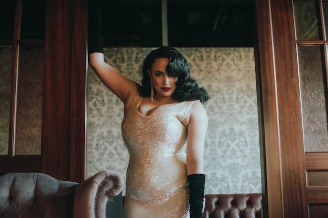 burlesque singer