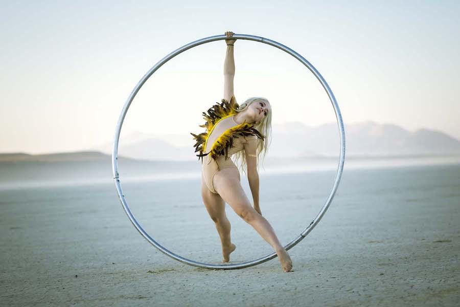 circus burlesque dancer