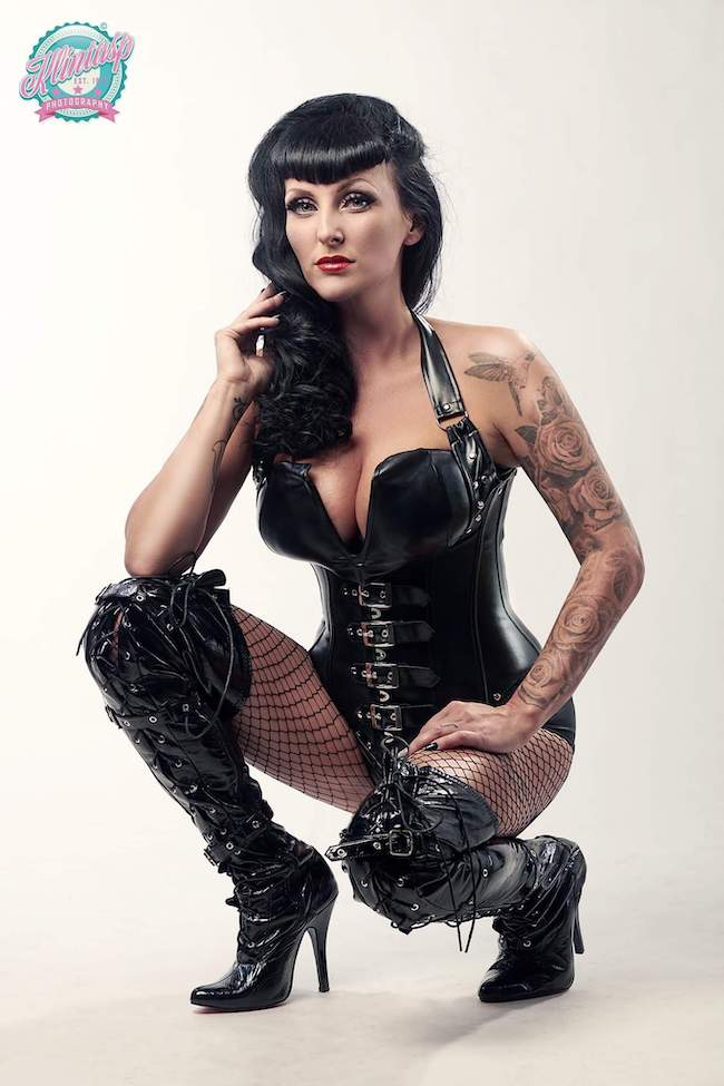 Rockabilly pinup Sweden