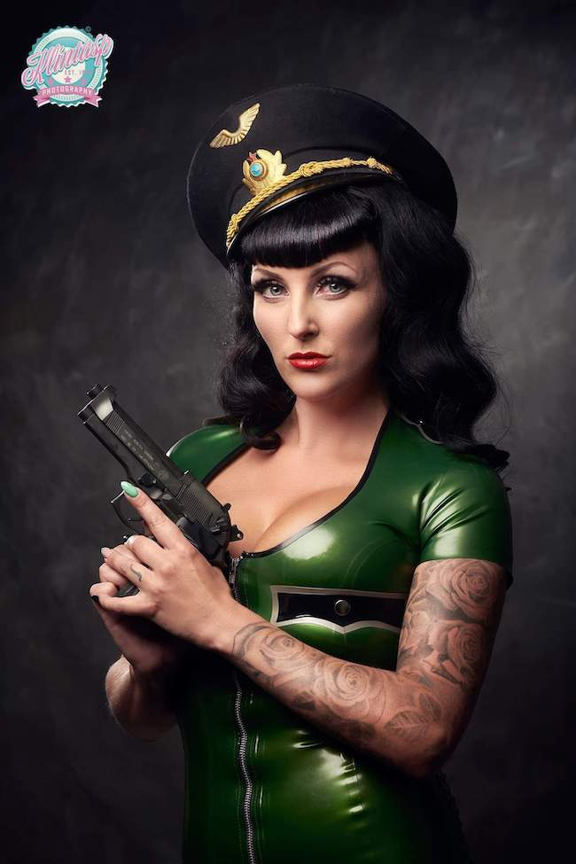 swedish pin up girl