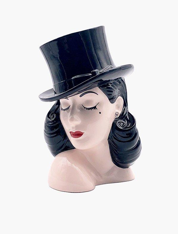 Dita Von Teese lady head